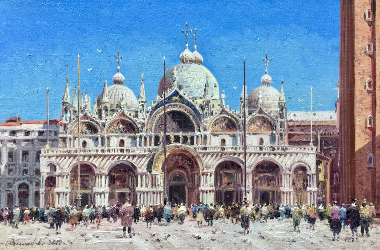 Vasily Ivanovich Gribennikov. St. Mark's Cathedral. Venice