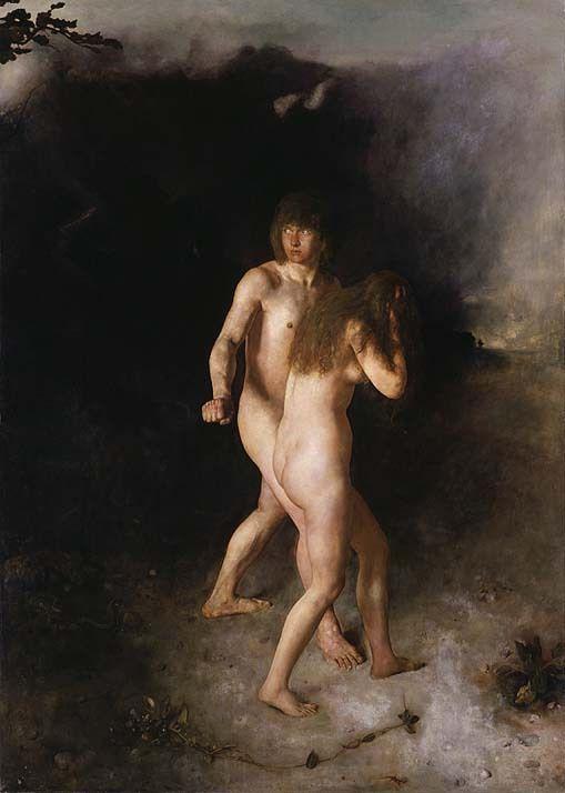 Ханс Хейердал. Адам и Ева изгнаны из рая