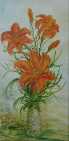 Rita Arkadievna Beckman. Lilies