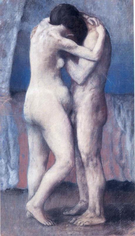 Pablo Picasso. L'Étreinte