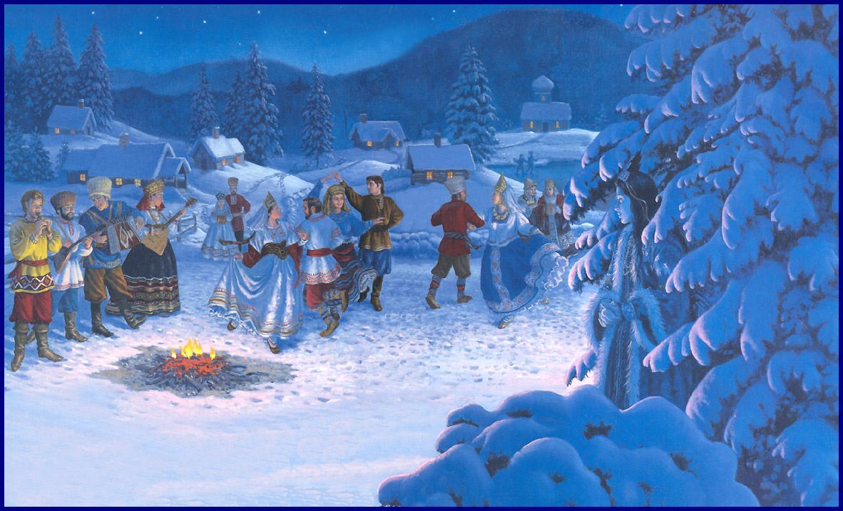 Рут Сандерсон. Зимний праздник