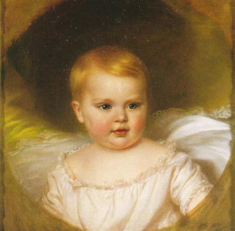 Unknown artist. Archduke Sofia. Daughter of Elizabeth of Austria