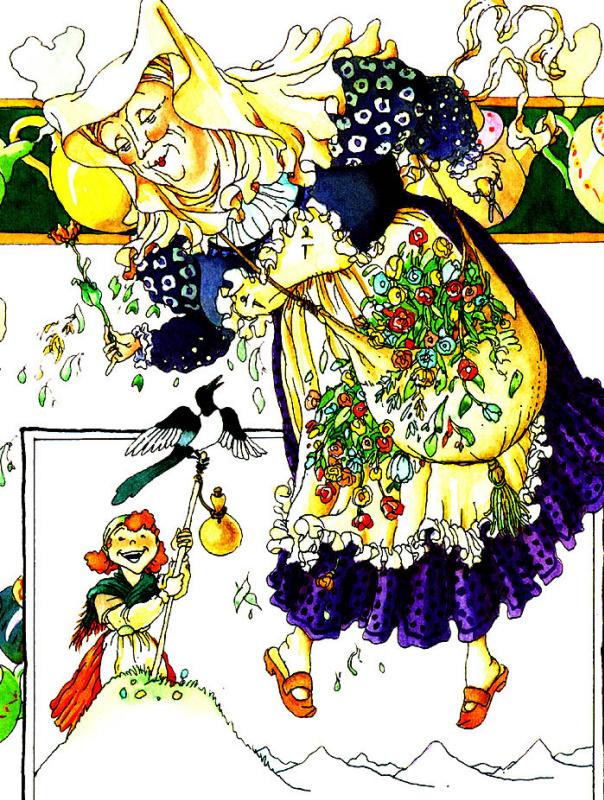 Клодин Сабатье. Фея растений