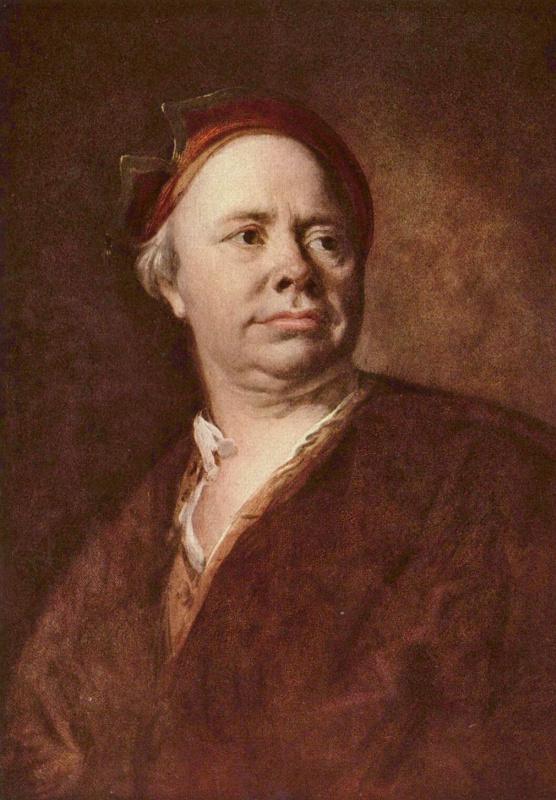 Петер Иоганн Брандль. Портрет пожилого мужчины
