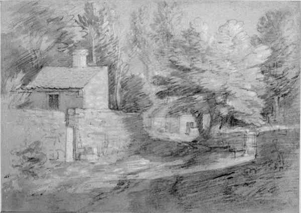 Thomas Gainsborough. Village street