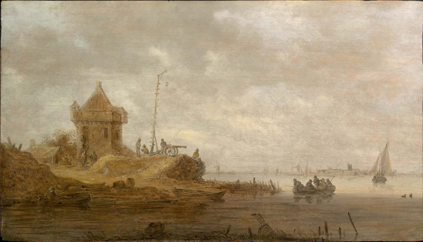 Jan van Goyen. River Fort