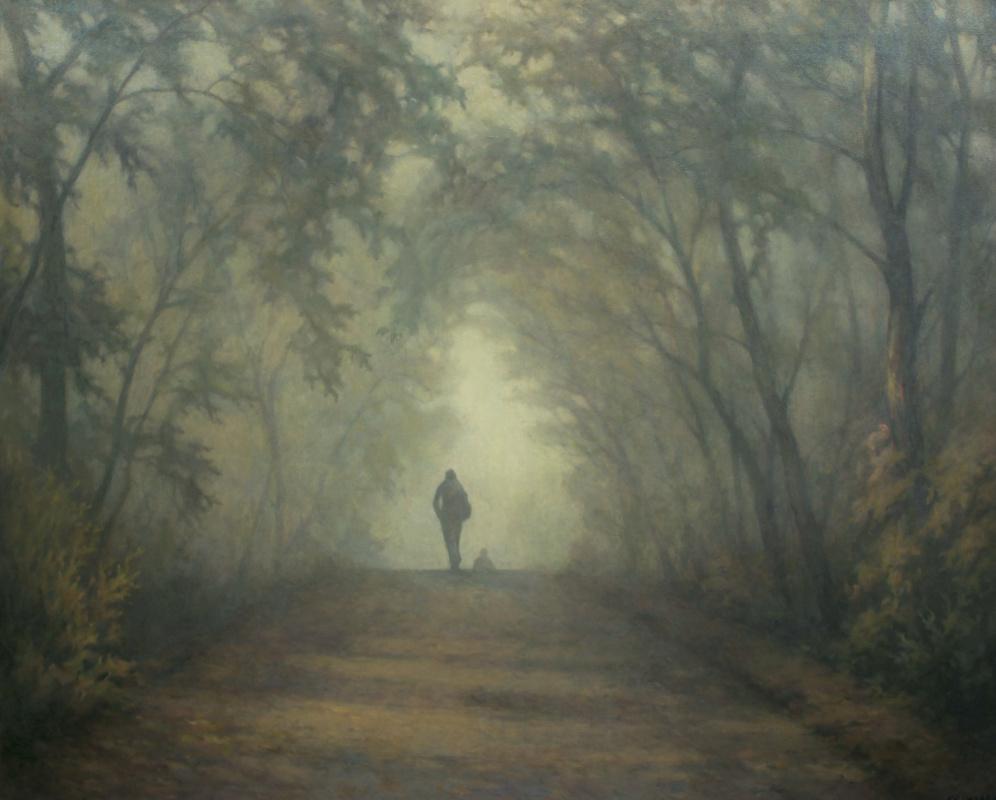 Александр Владимирович Кусенко. Foggy morning
