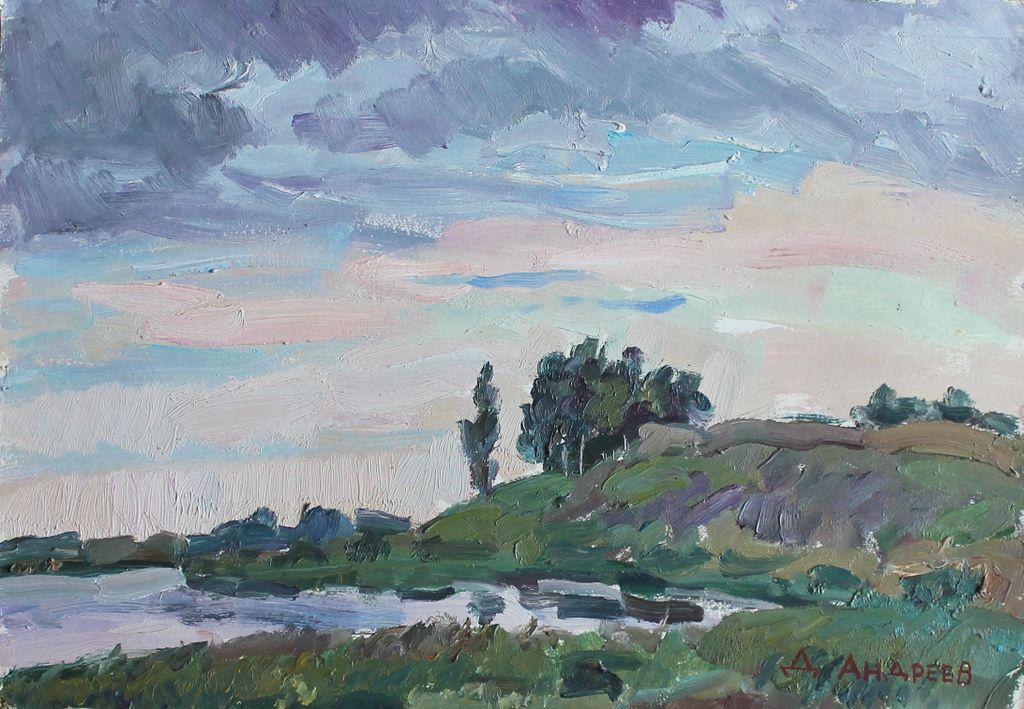 Daniil Andreev. Evening in the Pushkin Hills