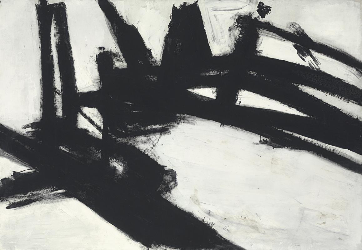 Franz Kline. Untitled