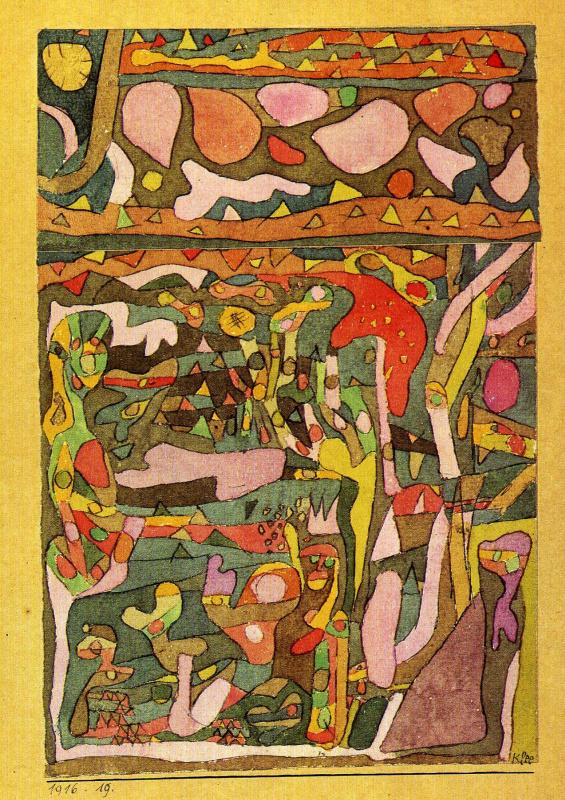 Пауль Клее. Солнце и цветы
