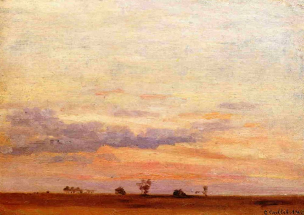 Gustave Caillebotte. The Briard Plain