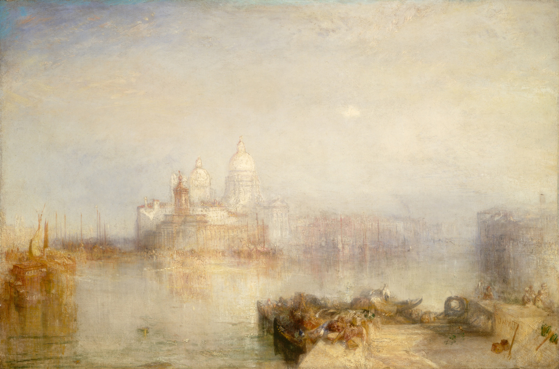 Joseph Mallord William Turner. Dogana and Santa Maria della Salute in Venice