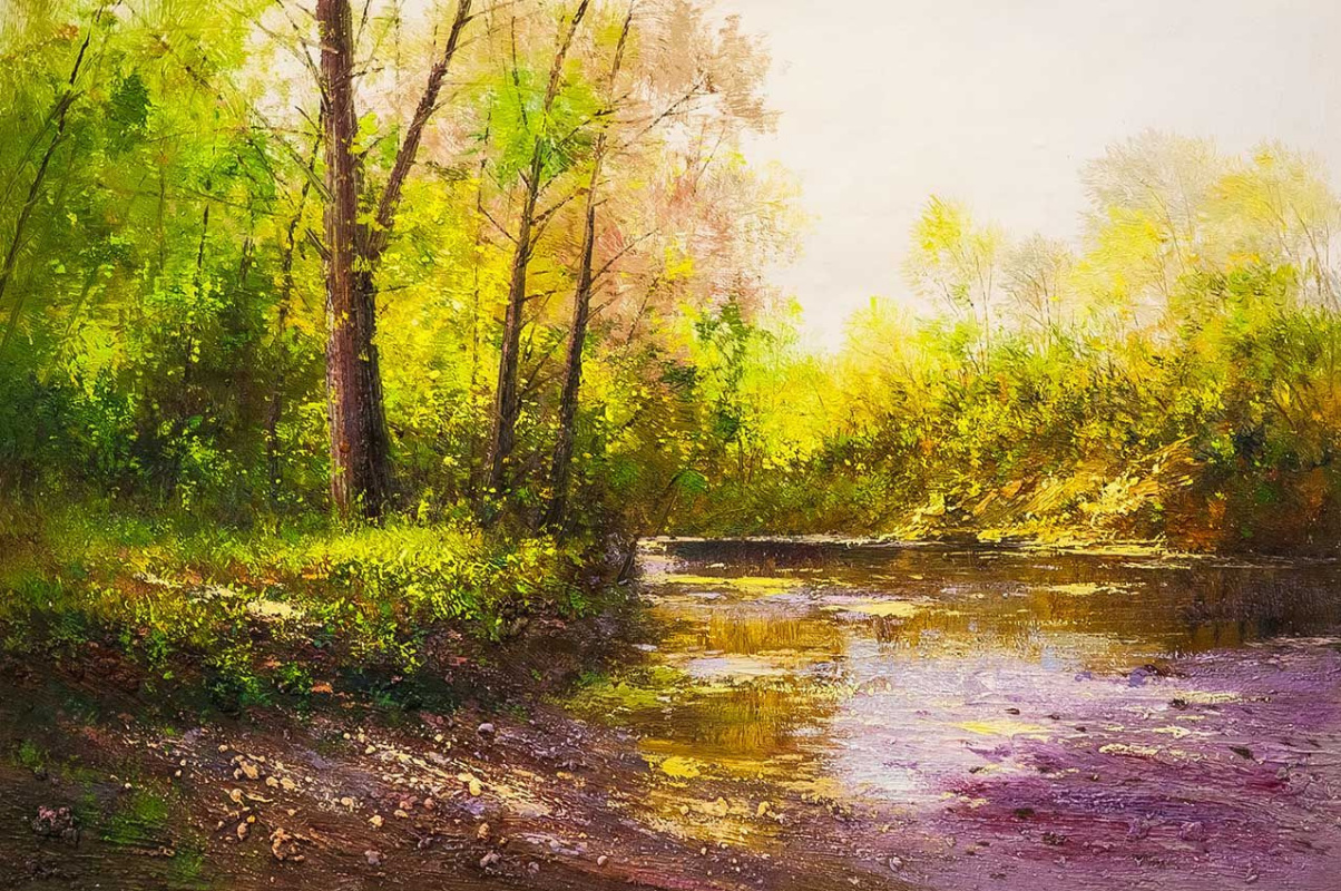 Andrey Sharabarin. In the emerald forest by the ringing stream ... N2
