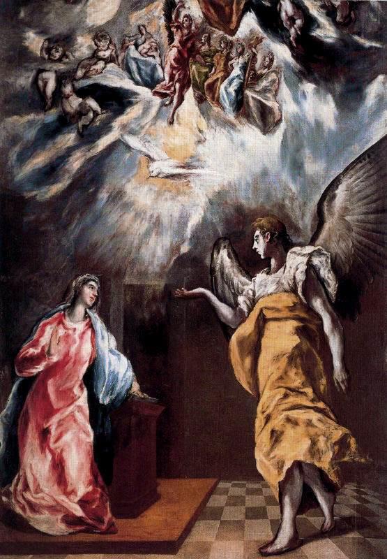 Domenico Theotokopoulos (El Greco). Annunciation