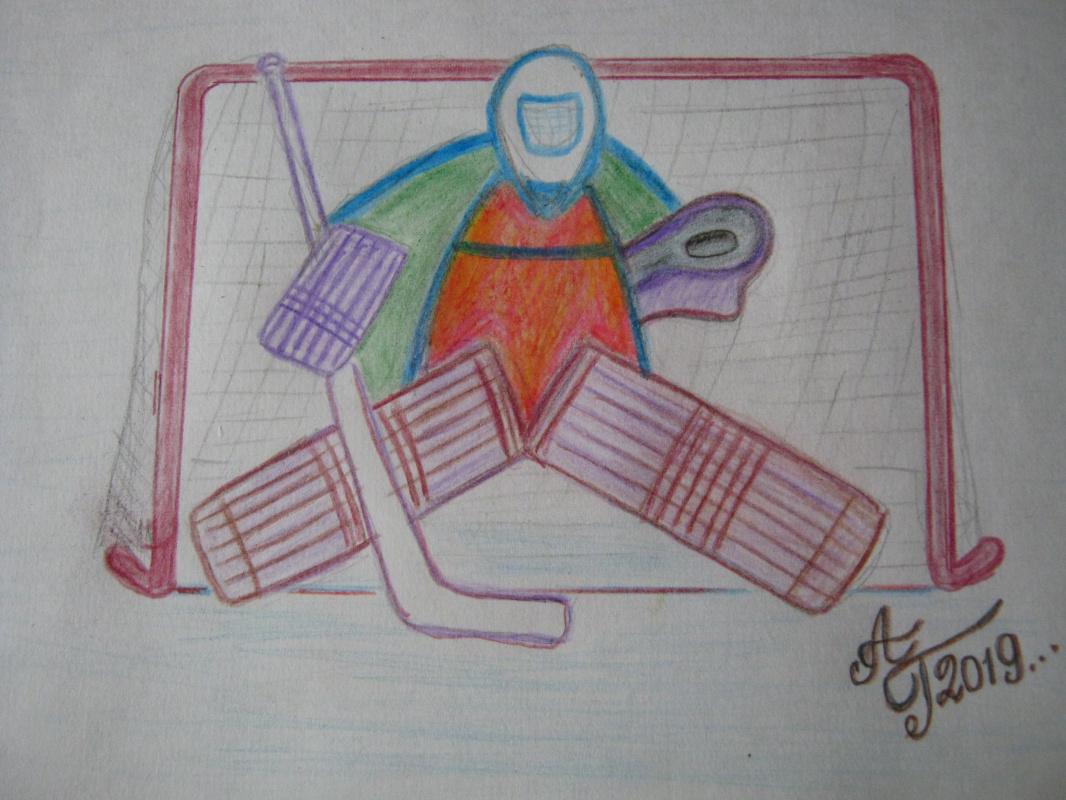 "Алексей Гришанков (Alegri). ""Puck Catcher"", Series Sport-30"