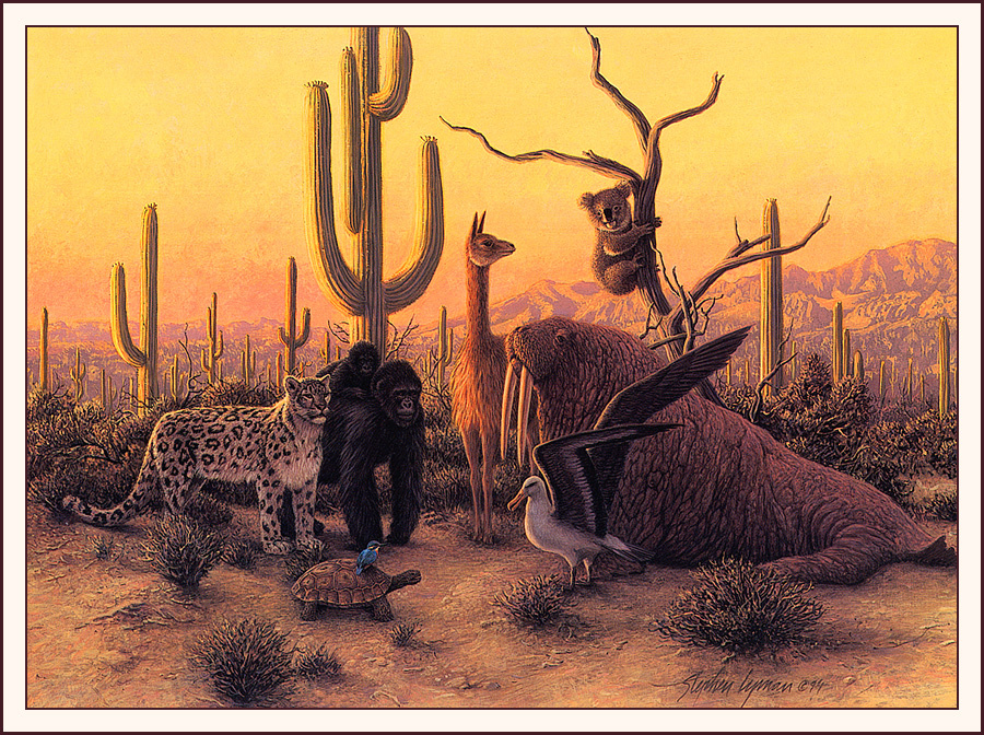 Стивен Лиман. Жители пустыни