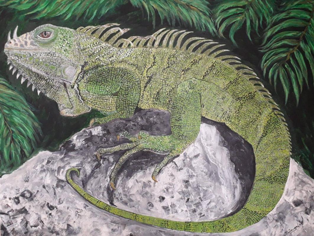 Inga Laugale. ,, Iguana ,,
