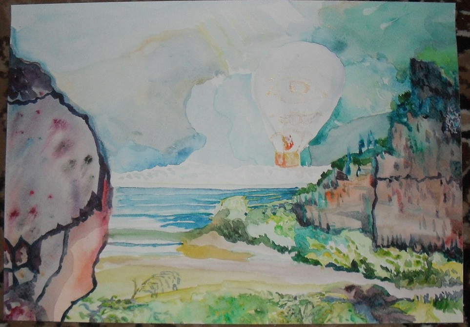 Василий Береговой. Воздушный шар.
