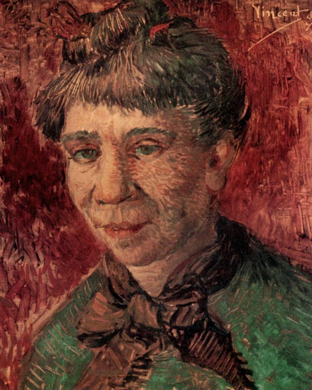 Винсент Ван Гог. Портрет женщины (Мадам Танги)