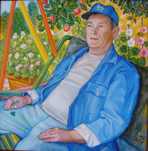 Vladimir Petrovich Chernov. Портрет Анатолия Шустикова