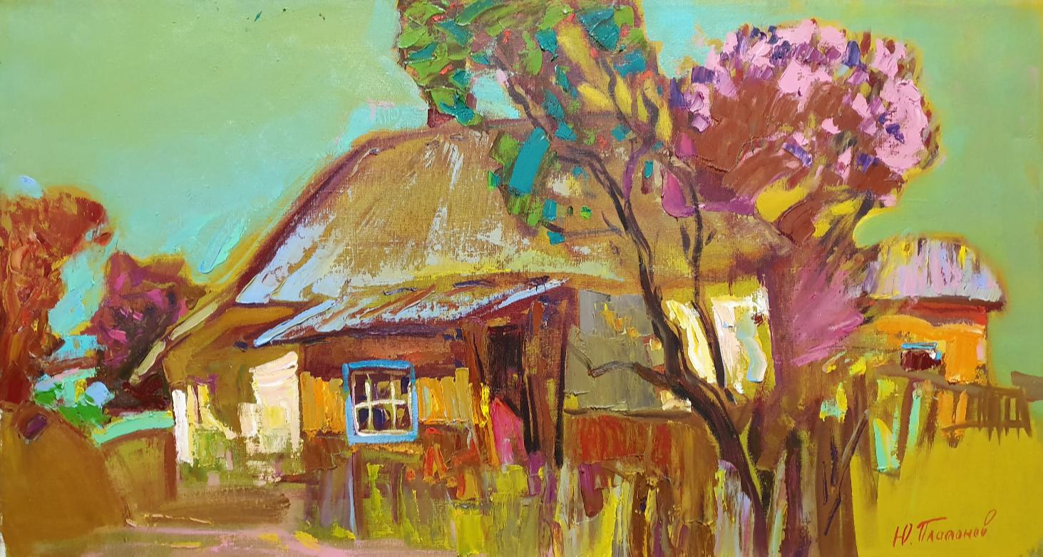 Yuri Vladimirovich Platonov. Shevchenko. Lilac blossoms
