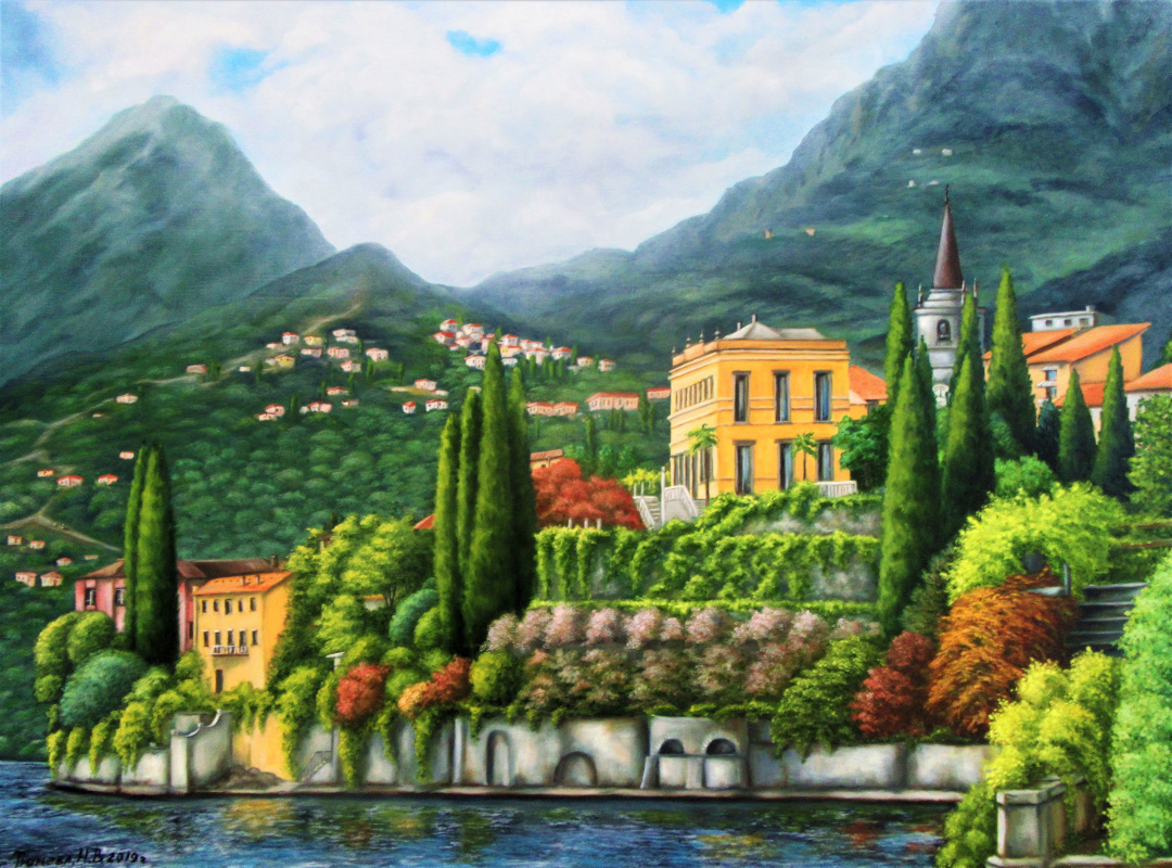 Natalia Viktorovna Tyuneva. Mediterranean landscape