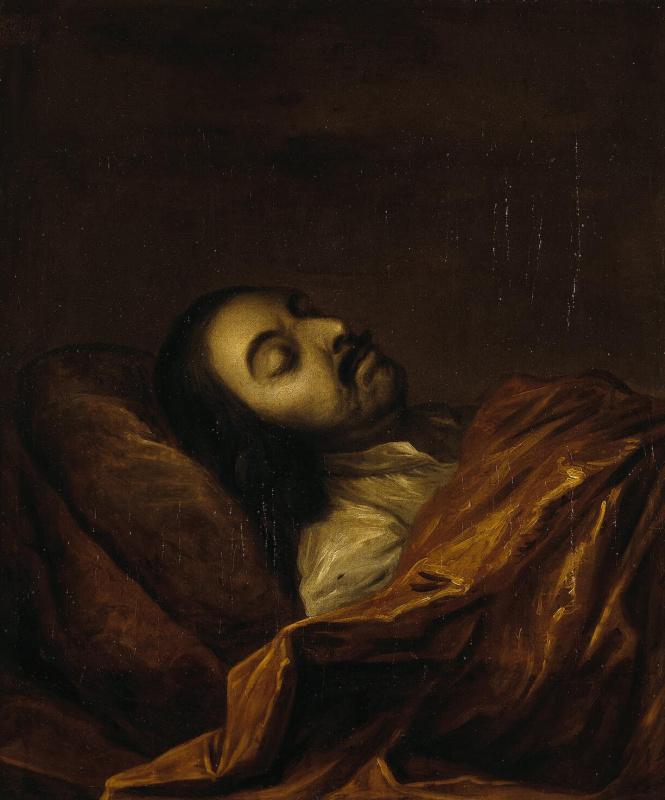 Портрет Петра I на смертном одре
