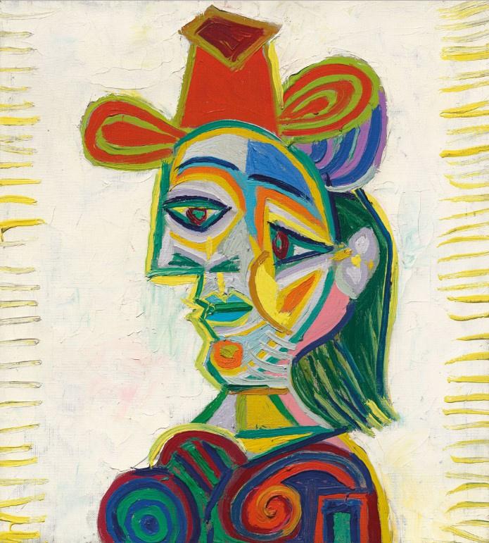 Пабло Пикассо. Бюст женщины (Дора Маар)