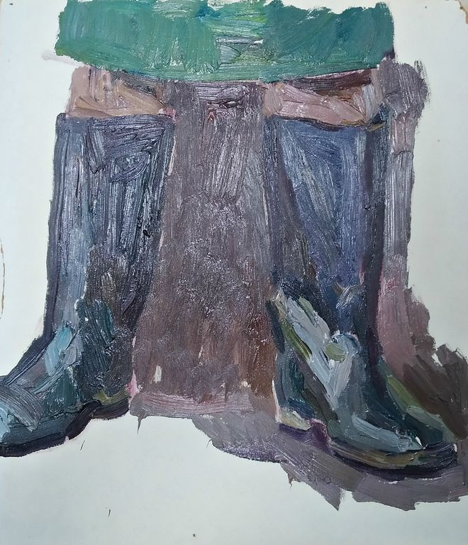 Orest Georgievich Betekhtin. Etude boots
