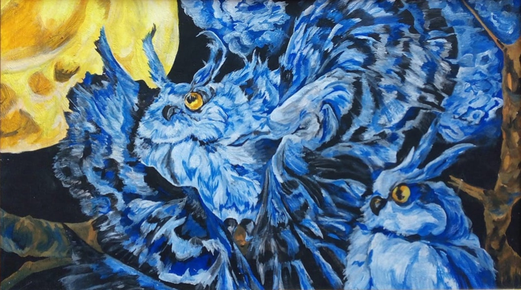 Tatyana Timakova. Owls. midnight.