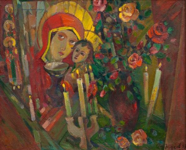 Vladimir Ivanovich Ostroukhov. Roses memory