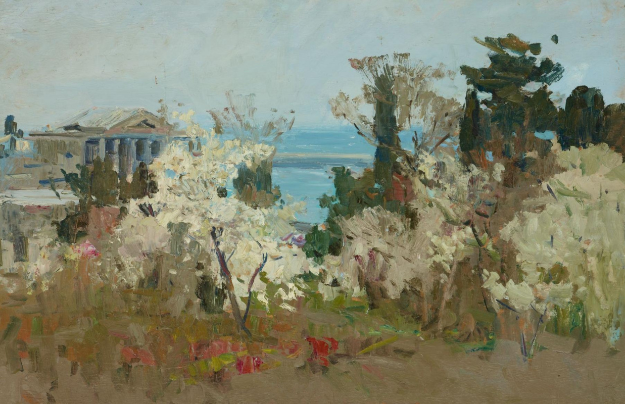 Федор Захарович Захаров. Spring in the port