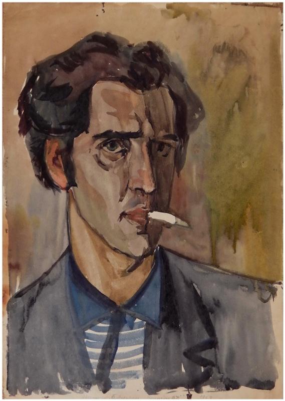 Victor Georgievich Efimenko. Self portrait. 1963