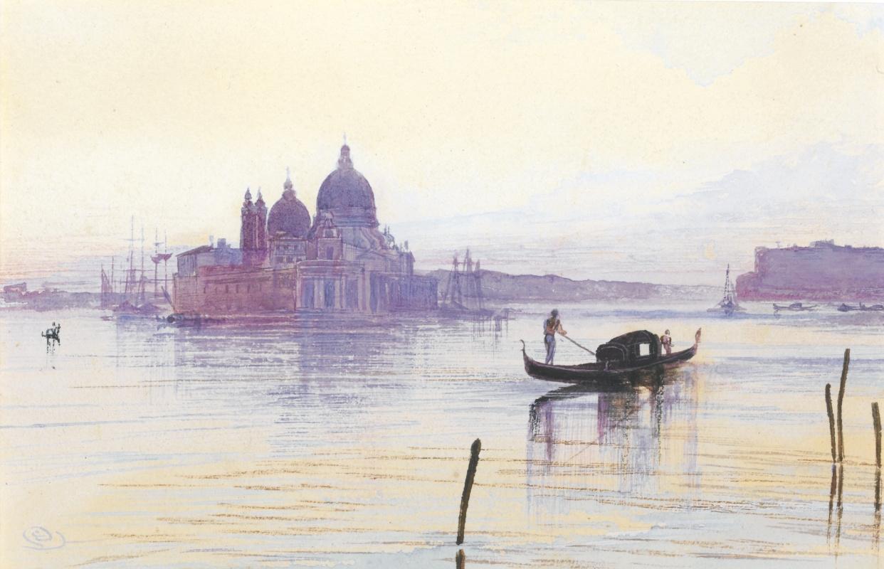 Эдвард Лир. Santa Maria della Salute, Venice