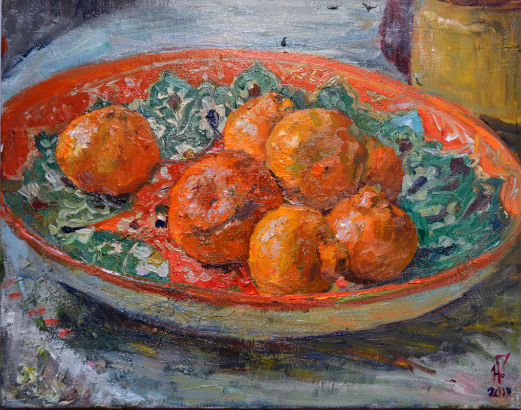 Natalya Grushevskaya. The orange piece