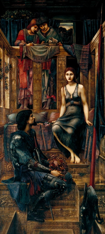 Edward Coley Burne-Jones. King Cophetua and the Beggar Maid