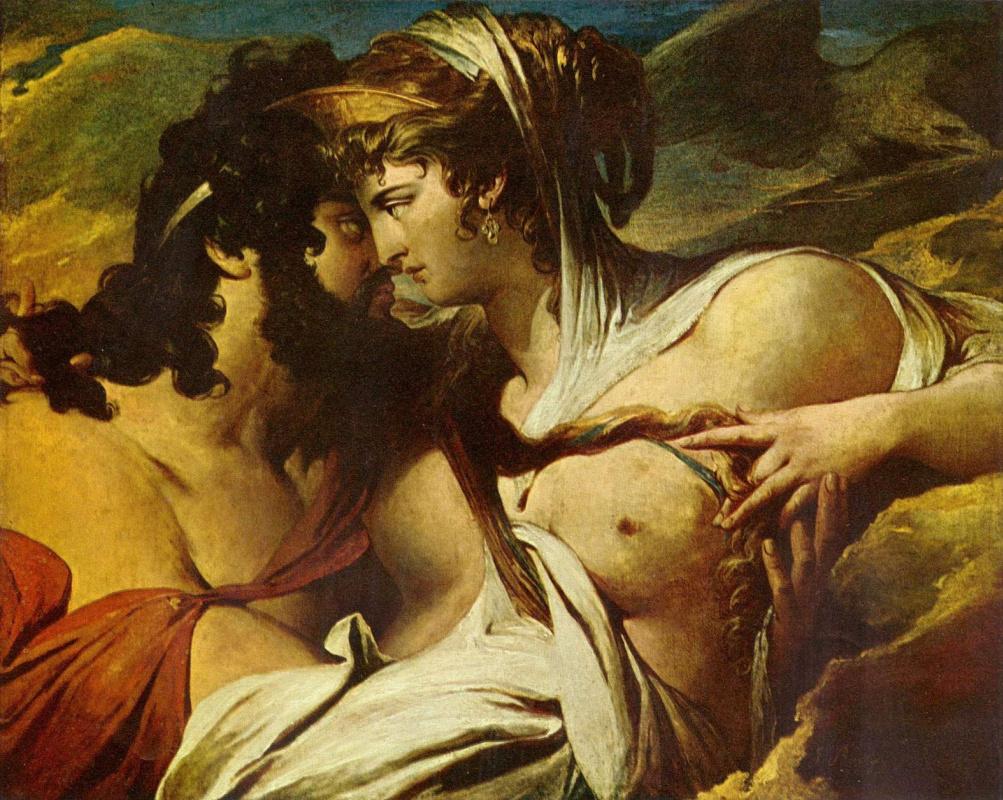 Джеймс Барри. Юпитер и Юнона на горе Ида
