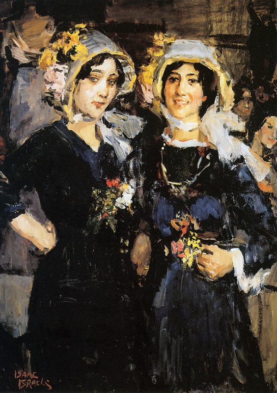 Две женщины Париж