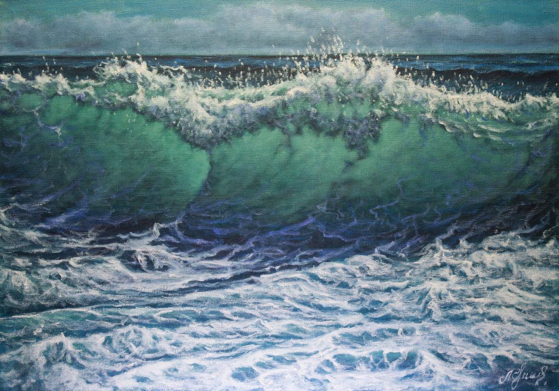 Valery Levchenko. No. 484 Seascape.