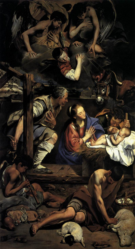 Фра Хуан Батиста Майно. Рождество Христа