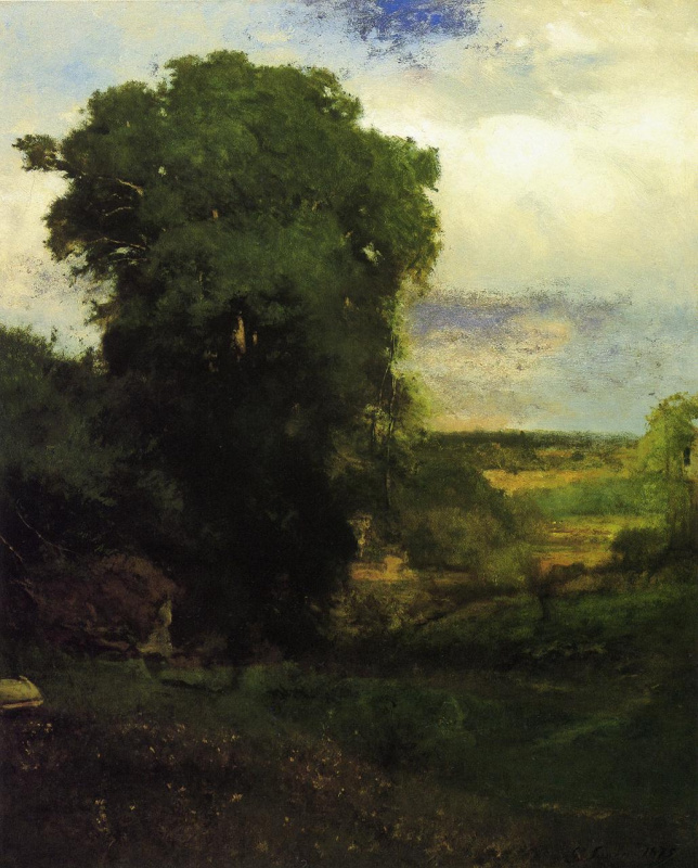George Innes. The middle of summer