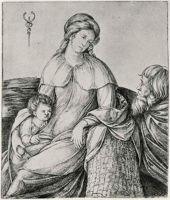 Якопо де Барбари. Святое семейство