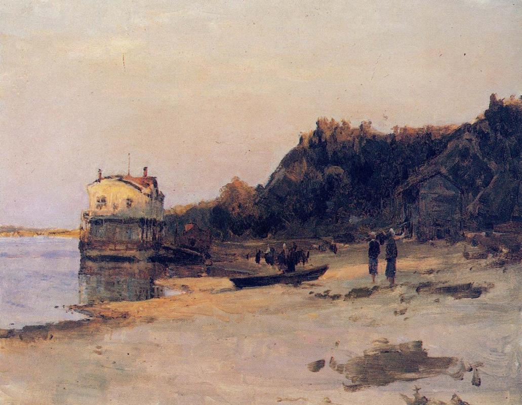 Alexey Mikhailovich Gritsay. Marina Kaneva, etude
