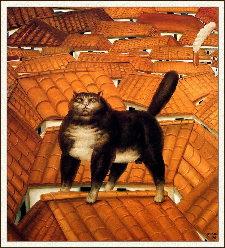 Фернандо Ботеро. Кот