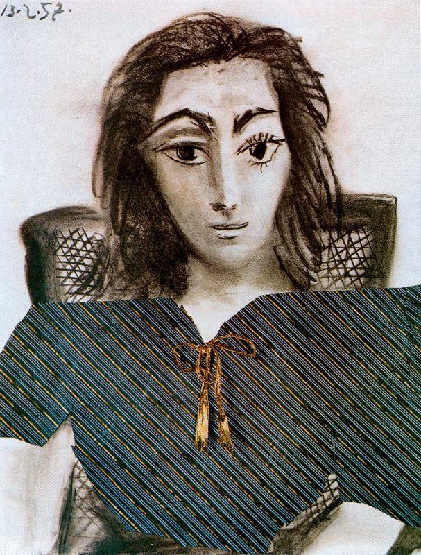 Пабло Пикассо. Портрет Жаклин