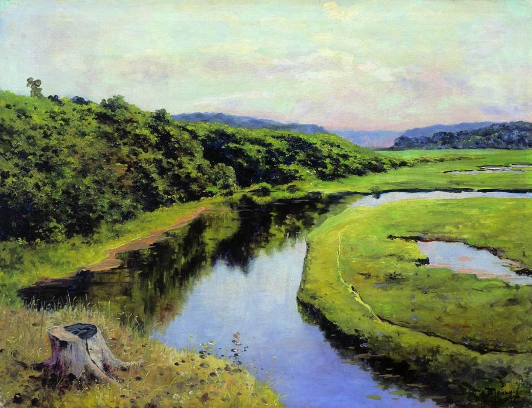 Vasily Dmitrievich Polenov. The Klyazma River. Zhukovka