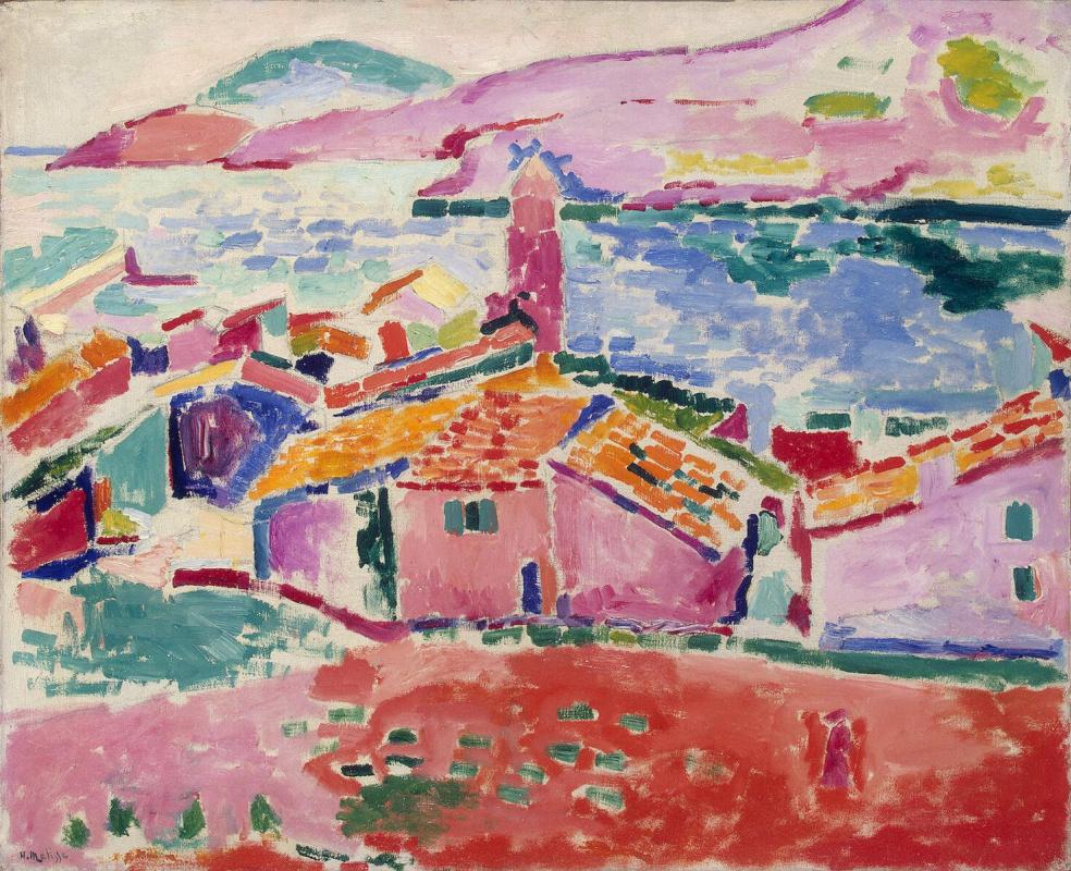 Henri Matisse. View of Collioure