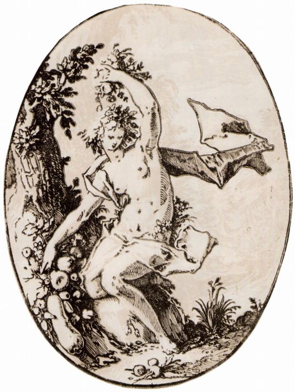 Hendrik Goltzius. Proserpine