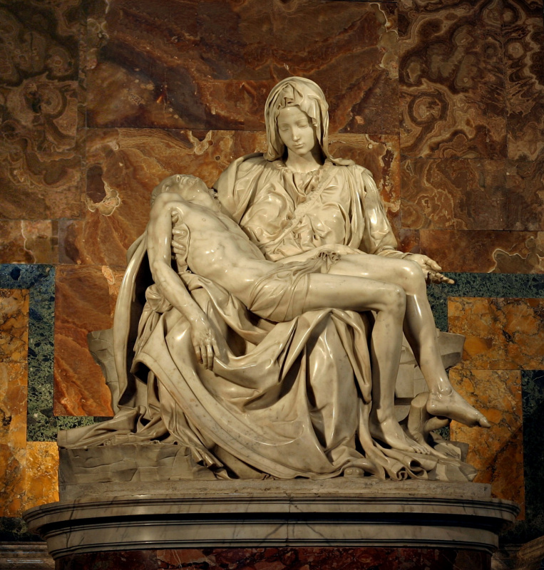 Michelangelo Buonarroti. Pieta (Lamentation Of Christ)