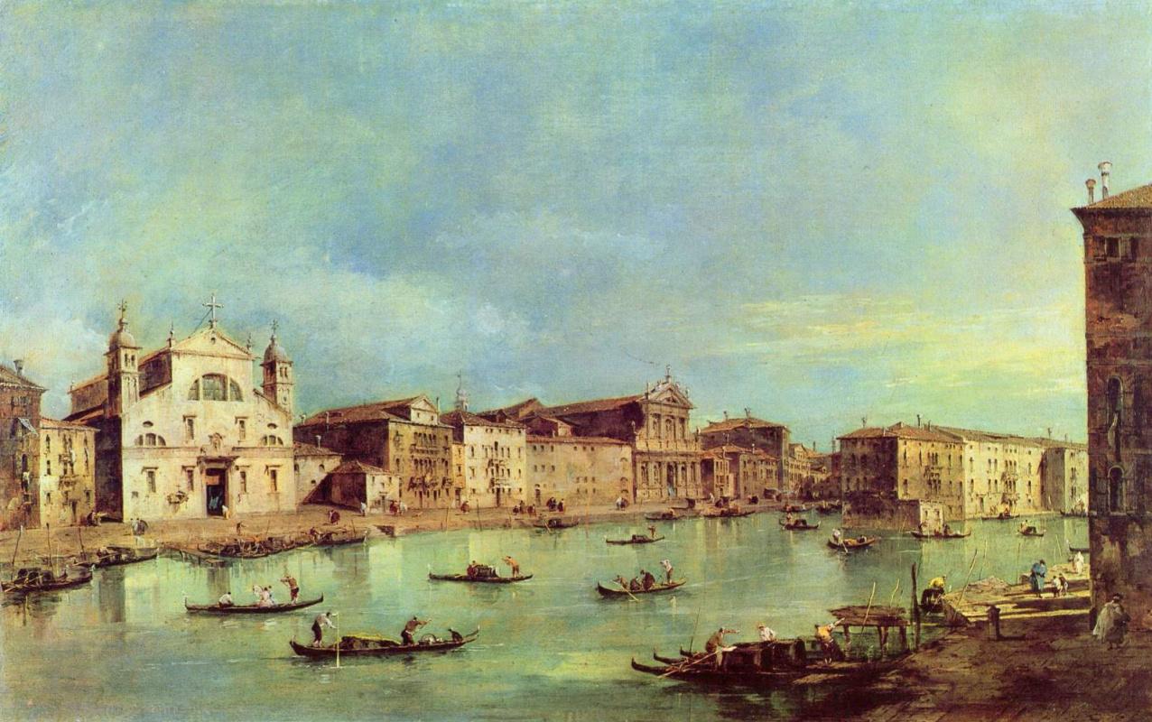 Франческо Гварди. Вид на Большой канал
